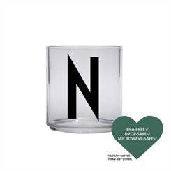 Design Letters Personal tritan drinking glass (N)