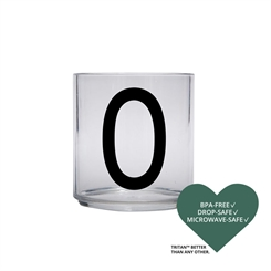 Design Letters Personal tritan drinking glass (O)