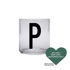 Design Letters Personal tritan drinking glass (P)