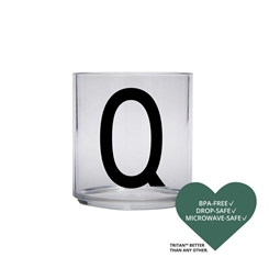 Design Letters Personal tritan drinking glass (Q)
