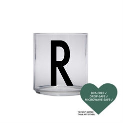 Design Letters Personal tritan drinking glass (R)