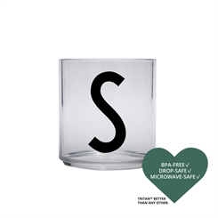 Design Letters Personal tritan drinking glass (S)