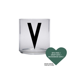 Design Letters Personal tritan drinking glass (V)