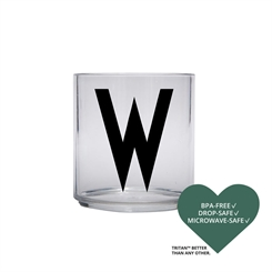 Design Letters Personal tritan drinking glass (W)