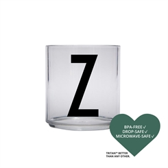 Design Letters Personal tritan drinking glass (Z)