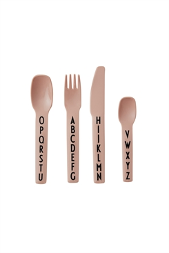 Design Letters cutlery set (nude)