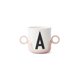 Design Letters ABC Kop Drink handle (Black)