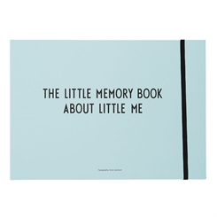 Design Letters Memory book - Blue