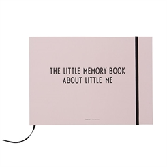 Design Letters Memory book - Light pink