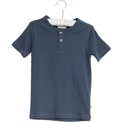 Wheat kortærmet T-Shirt Bertram - Indigo