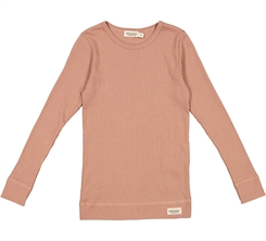 MarMar plain Tee LS - Rose Brown