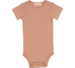 MarMar Plain Body SS - Rose Brown
