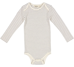 MarMar Ben rib Body LS - Blue stripes