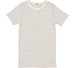MarMar Tago rib t-shirt SS - Blue stripes