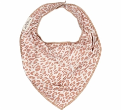 MarMar Leo Dry Bib - Rose Brown Leo