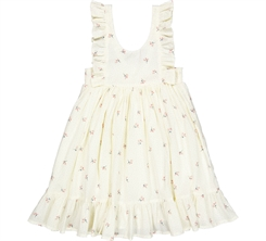 MarMar dress, Danita frill - Poppy