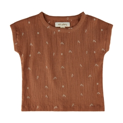 Soft Gallery Huxley t-shirt - Hazel, AOP Sprouts