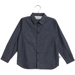 Wheat shirt Pelle - blue night