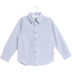 Wheat shirt Pelle - ocean blue
