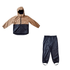 By Lindgren Gunnar PU Set w/Rain Pants - Night blue