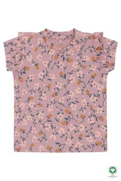 Soft Gallery Sif T-shirt - Woodrose, AOP Flowerberry