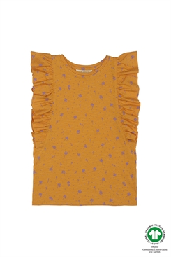 Soft Gallery Aylin T-shirt, Sunflower, AOP Clover