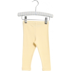Wheat Baby Rib Leggings - Lemon curd