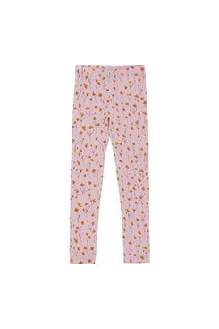 Soft Gallery Paula Leggings, Dawn Pink, AOP Buttercup