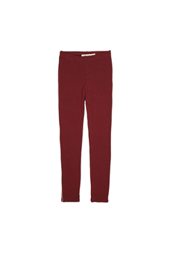 Soft Gallery Paula Leggings - Oxblood Red