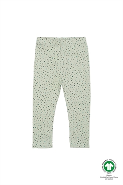 Soft Gallery Paula Baby Leggings, Swamp, AOP Trio Dotties
