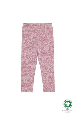 Soft Gallery Paula Baby Leggings, AOP Owl LIMITED - Mauve Shadows Lavender