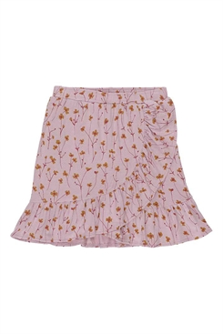 Soft Gallery Dakota Skirt, Dawn Pink, AOP Buttercup