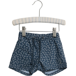 Wheat swim shorts Eli - Indigo anchor