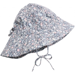 Wheat baby girl sun cap - flintstone