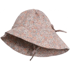 Wheat baby sunhat - powder flowers