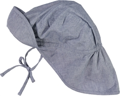 Wheat baby sun cap - Blue
