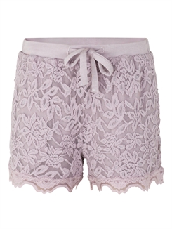 Rosemunde blonde shorts - Iris purple