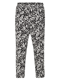 Rosemunde Trousers - Ivory small floral print