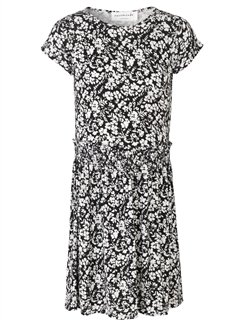 Rosemunde Dress SS- Ivory small floral print