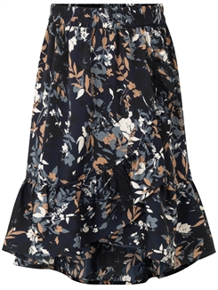 Rosemunde skirt - Blue flower field print