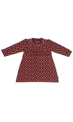 Kids-up kjole - red/gold
