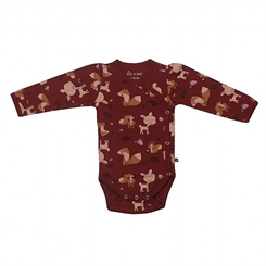 Kids-up Body - Russet red animals