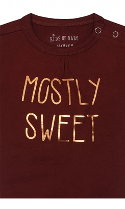 "Kids-up Body - Russet red ""Mostly sweet"""