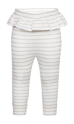 Kids-up leggings - Off white/gold
