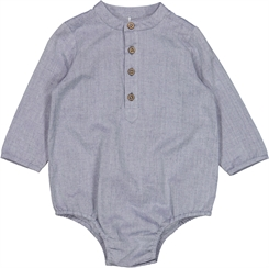 Wheat  Romper Shirt Victor - blue