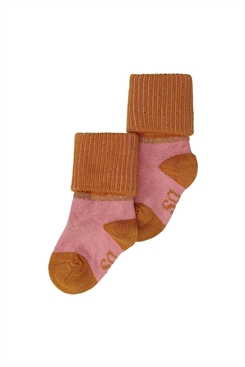 MP/Soft Gallery socks - Rose down, thai curry