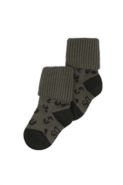 MP/Soft Gallery socks - Kalamata, AOP Leopspot