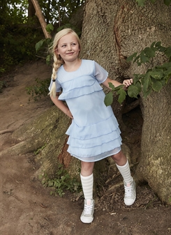 Kids-up Shirt Dress Christa - blue