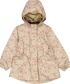Wheat Spring/summer jacket Ada - Stone flowers