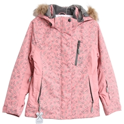 Wheat Ski Jacket Tomine Tech - Soft peach rose